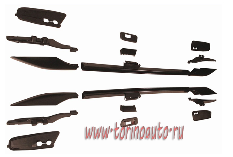 Рейлинги крыши для Toyota LAND CRUISER PRADO FJ150/C285099A0Black