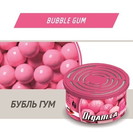 Ароматизатор ж/б organic AIM-ONE Жевательная резинка. AIM-ONE Organic Cans Bubble Gum (ORGANI.CA)  O