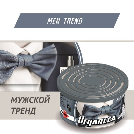 Ароматизатор ж/б organic AIM-ONE Мужской Тренд. AIM-ONE Organic Cans Men Trend(ORGANI.CA)ORG-MEN/42г