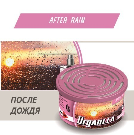 Ароматизатор ж/б organic AIM-ONE После Дождя. AIM-ONE Organic Cans After Rain (ORGANI.CA) ORG-AFR/42