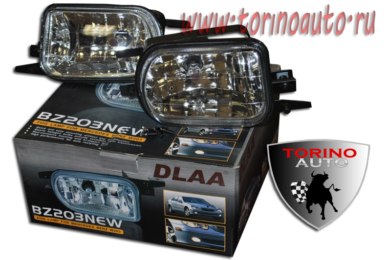 Фара противотуманная  DLAA  BZ203NEW  MERCEDES-BENZ C-W203 2000-2006г/вып,