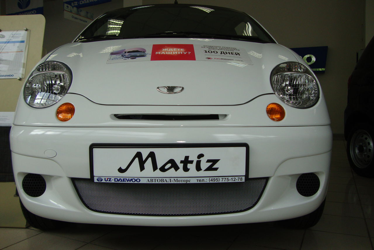 Защита радиатора Daewoo Matiz chrome
